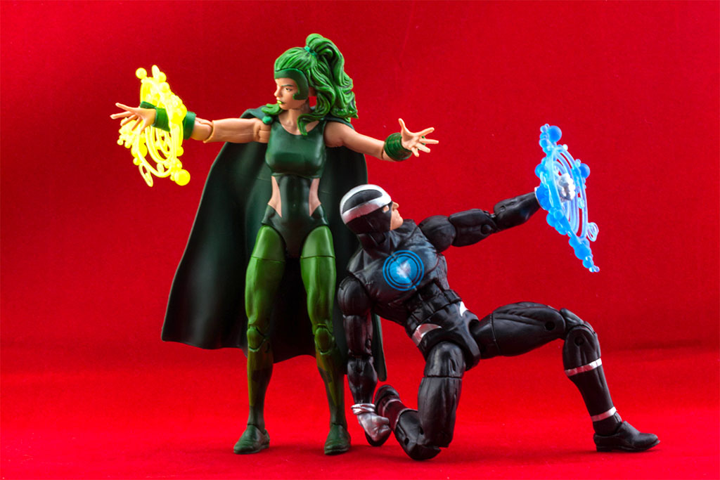Marvel Legends Havok and Polaris