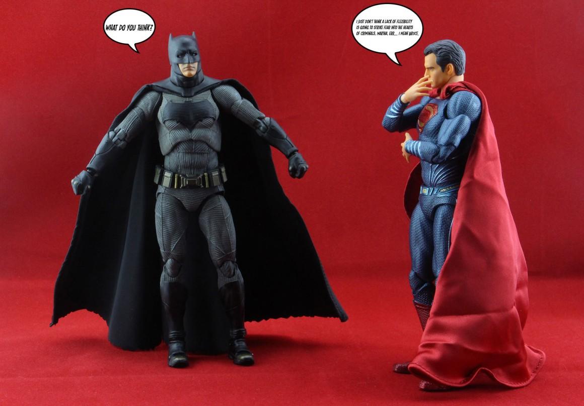 Mafex Dawn of Justice Batman
