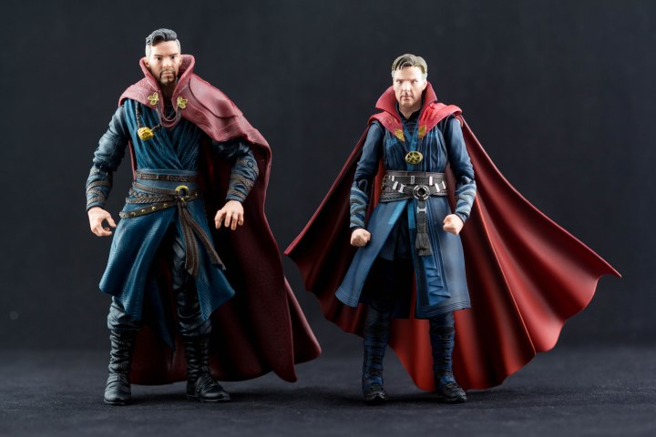 S.H. Figuarts Doctor Strange Vs. Marvel Legends MCU Doctor Strange