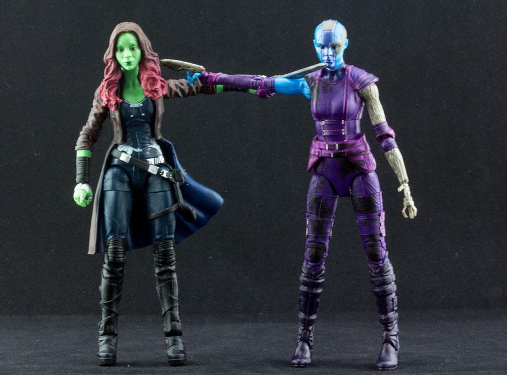 Marvel Legends Gamora Marvel Legends Nebula