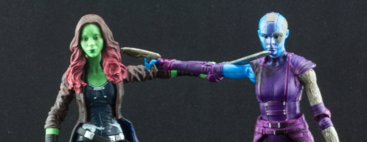 Marvel Legends Gamora and Nebula Review (1000 Words or Less)