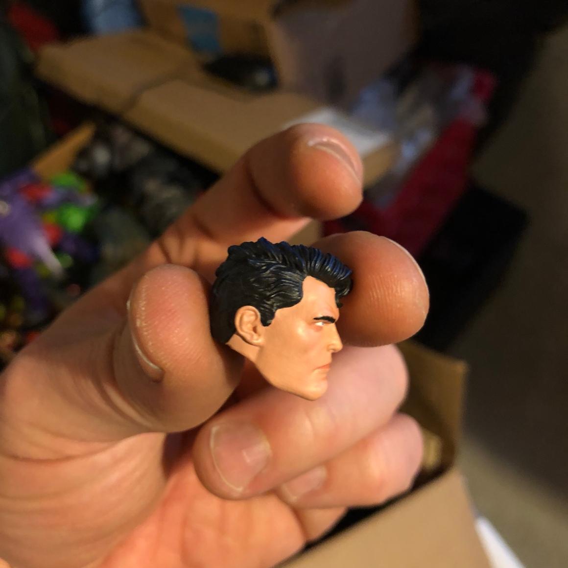 Mei Kai Studios Superman custom head sculpt