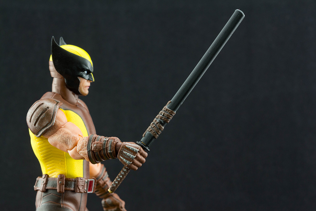 TIGER STRIPE OUTFIT fits Marvel Legends Wolverine no figure Mezco style.