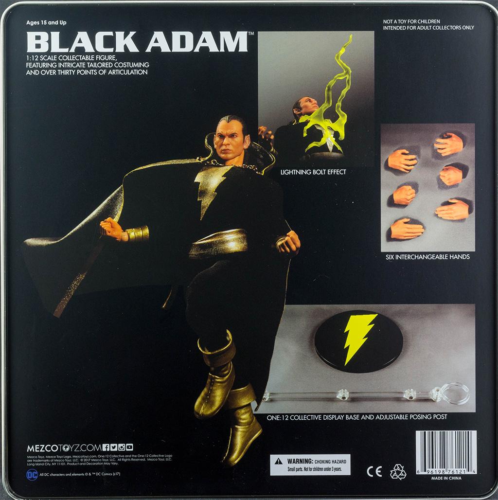 Mezco Black Adam PX
